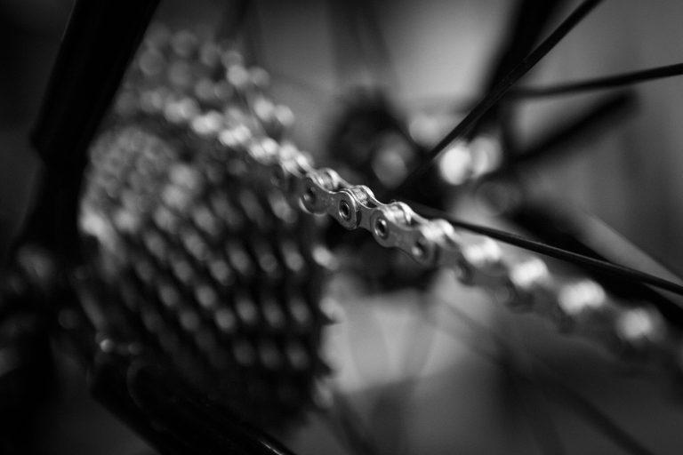 Hvordan smøre sykkelkjedet